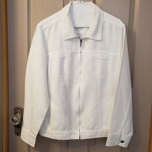 Croft&Barrow White Jacket
